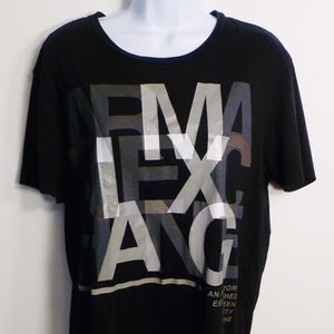 Men's A/X Armani Exchange short sleeve shirt.